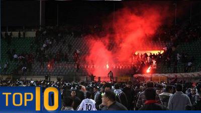 Top 10 stadium tragedies