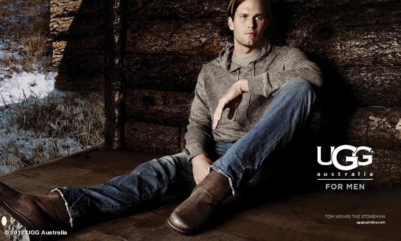 Tom Brady Models UGG Boots in Australian Footwear Company's Latest Catalog (Photo)