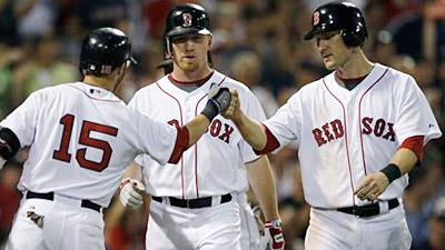 Beckett Strong, Bats Break Out as Red Sox Rock A's 8-3