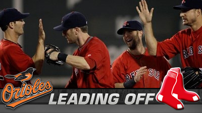 Leading Off: Red Sox Aim to Sweep Orioles