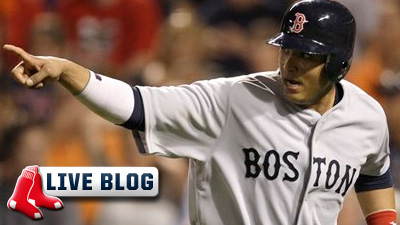 Live Blog: Red Sox at Rays