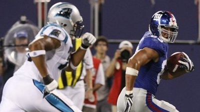 Giants Use Late Touchdown to Edge Panthers in Preseason Opener