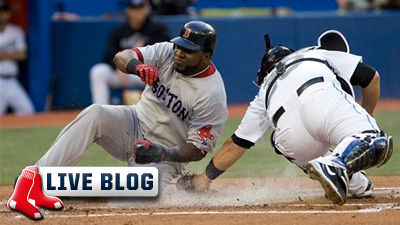 Live Blog: Red Sox at Blue Jays