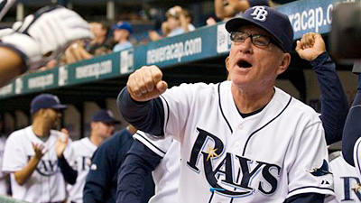 Maddon's Offbeat Approach Reaping Rewards for Rays