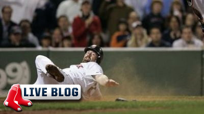 Live Blog: Rays at Red Sox