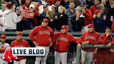 Live Blog: Angels at Red Sox