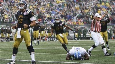 Jets' Rex Ryan Unhappy With Mark Sanchez's Risky Touchdown Run