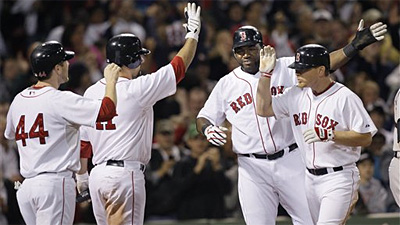 Rangers Lose, Red Sox Clinch Playoff Berth as Boston Sleeps