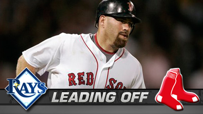 Red Sox Set For A Double Dip With Tampa Bay