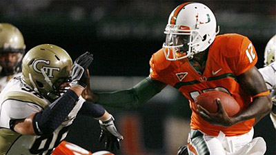 Miami Puts Emphatic End to Georgia Tech Hex in 33-17 Win