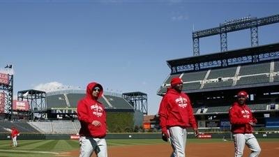 Snow in Denver Postpones NLDS Game 3 Between Phillies and Rockies