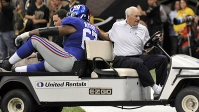 Giants Tackle Kareem McKenzie Likely Out at Least a Week