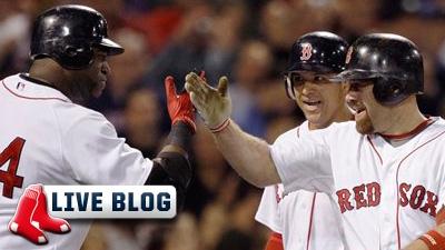 Live Blog: Blue Jays at Red Sox