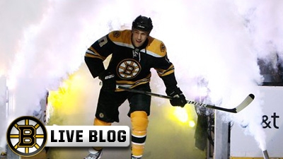 Live Blog: Hurricanes at Bruins