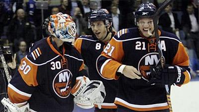 Over Swine Flu, Doug Weight Assists on Winner as Islanders Stop Rangers