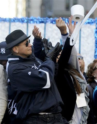 Breakfast Blend: Alex Rodriguez and the Head-Hunting Toilet Paper