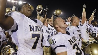 Navy Upsets Notre Dame for Second Time in Three Years