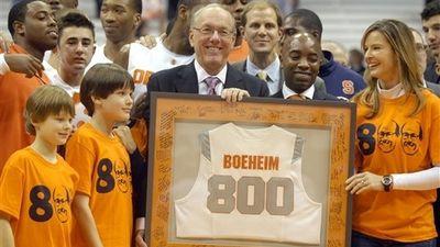 Jim Boeheim Nets Career Win No. 800