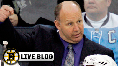 Live Blog: Bruins vs. Oilers