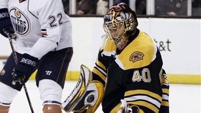 Tuukka Rask Earns Shutout as Bruins Top Oilers 2-0
