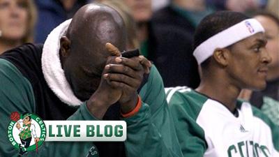 Live Blog: Celtics vs. Warriors