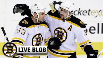 Live Blog: Bruins at Blues