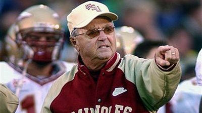 FSU Coach Bobby Bowden to Retire After Bowl Game