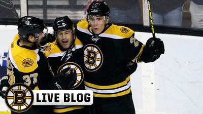 Live Blog: Flyers at Bruins