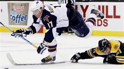 Bruins Continue to Eye Trade for Thrashers' Ilya Kovalchuk
