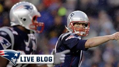 Live Blog: Jaguars at Patriots
