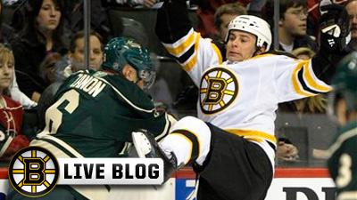 Live Blog: Bruins at Panthers