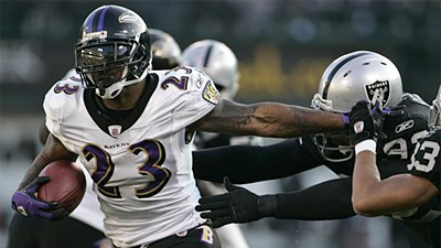 Ravens Clinch Playoff Spot With 31-13 Win Over Raiders