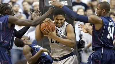 Georgetown Battles Back to Top UConn 72-69