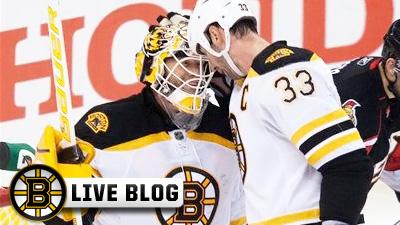 Live Blog: Bruins at Ducks