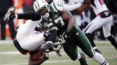 Jets' Bart Scott Taking Bill Belichick Approach in Playoffs