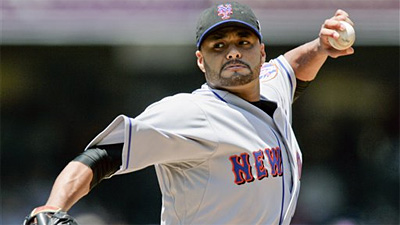 Johan Santana Ready to Throw Off Mound for First Time Since Injuring Elbow
