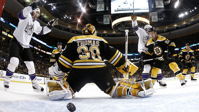 Bruins Fall Again, Earn Point in Shootout Loss to Kings