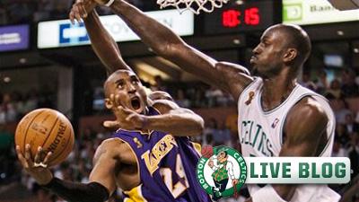 Live Blog: Celtics vs. Lakers