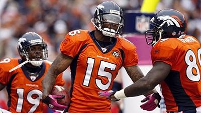 Report: Broncos' Brandon Marshall Rumored to Browns for Brady Quinn