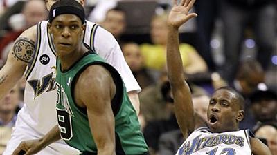 Rajon Rondo the Catalyst as Celtics Knock Off Pesky Wizards