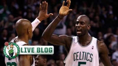 Live Blog: Celtics vs. Heat