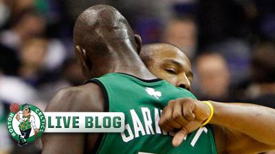 Live Blog: Celtics at Hornets