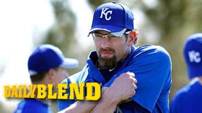 Kyle Farnsworth Introduces 'Mad Professor' Look for Royals at Spring Training
