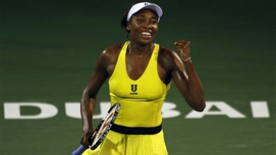 Venus Williams defends Dubai Championships Title, Beats Victoria Azarenka