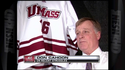 Don Cahoon Breaks Down UMass' Second Half Struggles