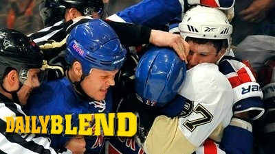 Brandon Dubinsky Gets Revenge for the Red, White and Blue by Mauling Sidney Crosby