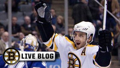 Live Blog: Five Different Bruins Score in 5-1 Win Over Flyers