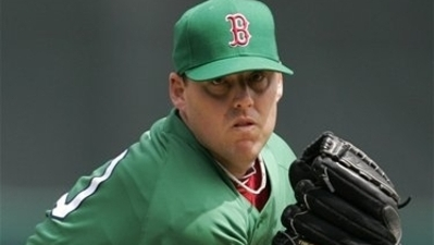 Red Sox Wearing Green Uniforms, Green Hats in Honor of St. Patrick's Day