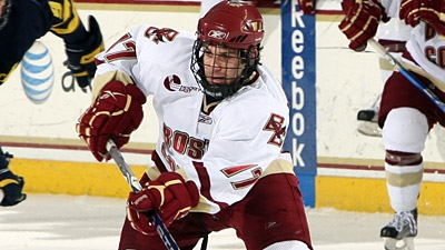 Boston College Gets No. 1 Seed in NCAA Hockey Tourney, Will Start in Worcester