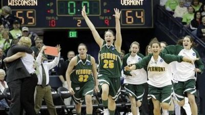 Courtnay Pilypaitis and May Kotsopoulos Lead Vermont to First NCAA Tournament Win